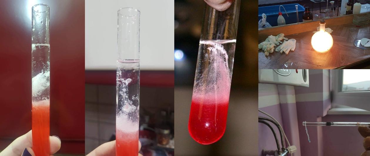 Дел од експериментите со кои годинава ќе се претстават нашите тимови од хемичари.